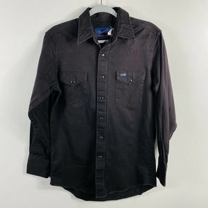 Vintage Wrangler Brown Pearl Snap Button Shirt